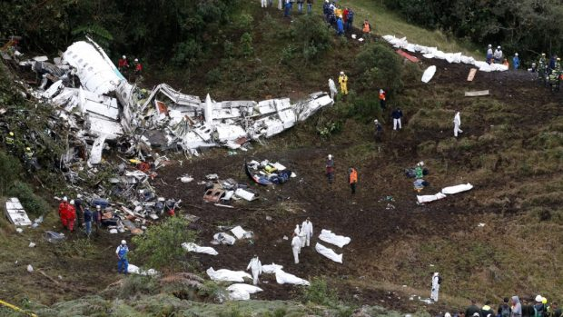 Brazil declared three days of mourning over the crash [Reuters]