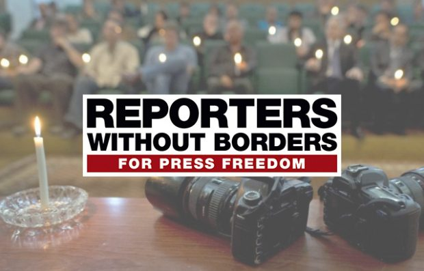 Reporters Without Borders: 65 journalists killed in 2017