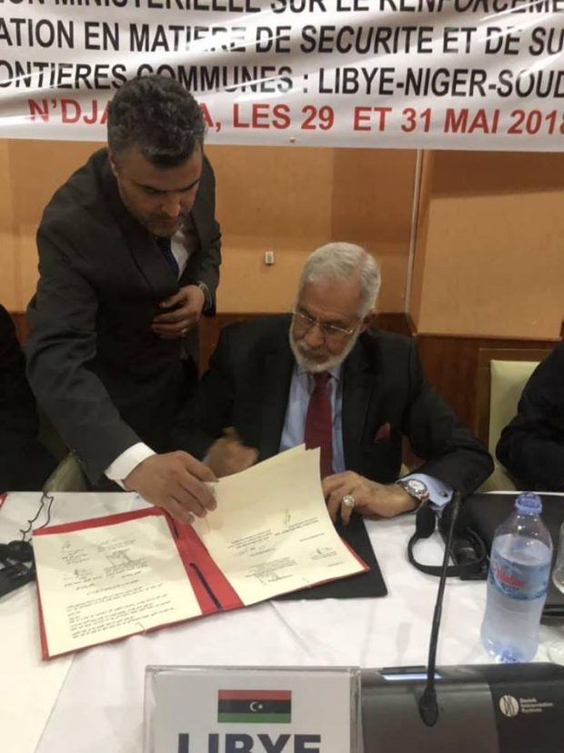 Libya Signs Border Control Agreement With Southern Neighbouring