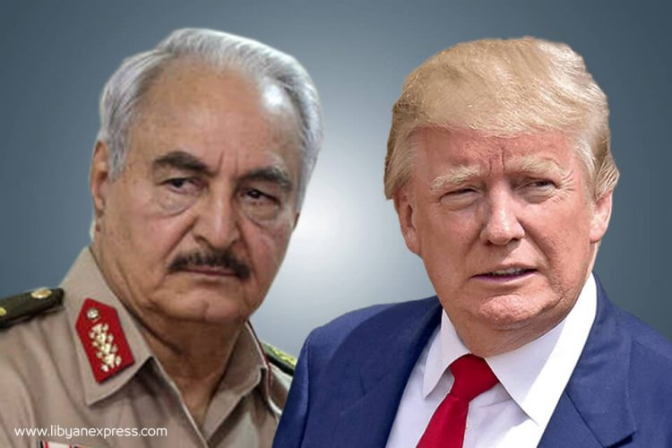 Sources: Libya's Haftar to meet US President Trump at the White House