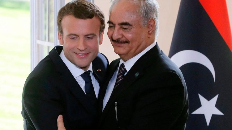 Libya's Haftar visits Paris to meet Macron amid Tripoli offensive