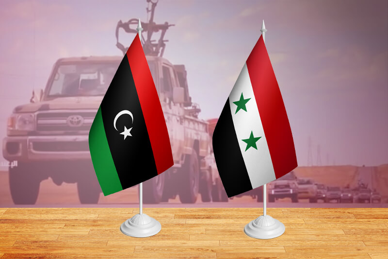 The Libyan Syrian situation